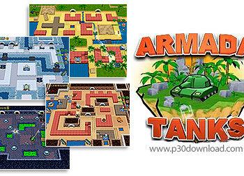 1309949859 armada tanks 1 350x253 - دانلود Armada Tanks - بازی ناوگان تانک هالینک