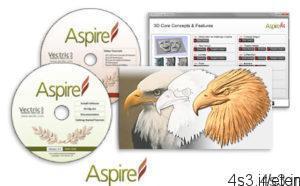 11 12 300x186 - دانلود Vectric Aspire v4.0 - نرم افزار طراحی مدل های CNC