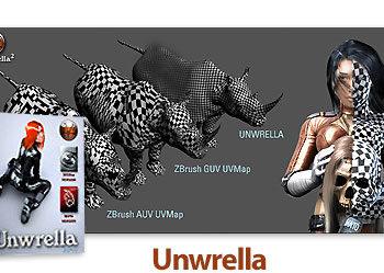 11 13 350x249 - دانلود Unwrella v2.20 For 3Ds Max 2011 - 2012 - 2013 x86/x64 - پلاگین تری دی اس مکس برای صاف کردن نقشه تکسچر