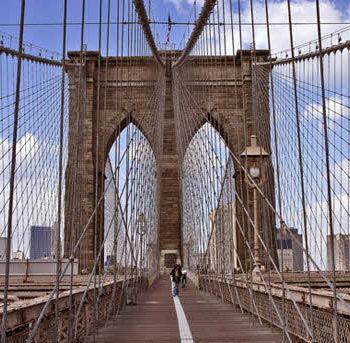 27 350x343 - پل بروکلین یکی از پل های ایالات متحده آمریکا