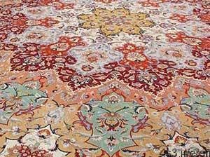 زبان نقش و نگارهای فرش دستباف