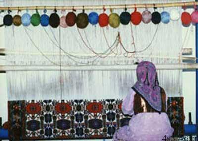 انواع دار در قالی بافی