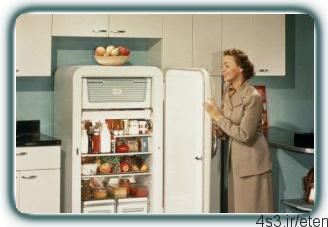 یخچال و فریزری تمیز و خوشبو