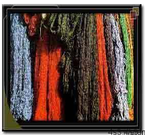 5 9 - مزایای رنگهای گیاهی درفرش