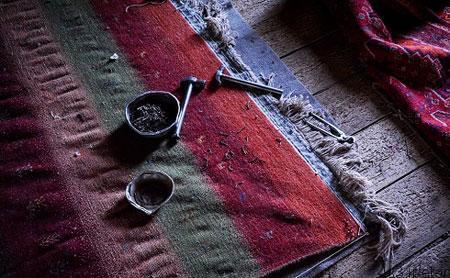 هنر رفوگری فرش + تصاویر