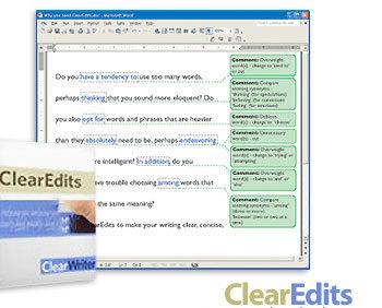 83 350x282 - دانلود نرم افزار ClearEdits v3.1 - نرم افزار ویراستاری پیشرفته متون انگلیسی و تمرین مهارت Writing