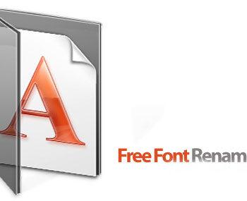 88 4 350x285 - دانلود Free Font Renamer v2.1 - نرم افزار تغییر نام فونت ها به نام اصلی