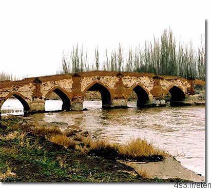 پل آجی چای تبریزآثاری زیبا