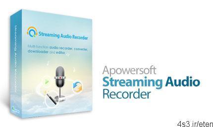 39 - دانلود Apowersoft Streaming Audio Recorder v4.2.0 - نرم افزار ضبط جریان های صوتی در حال پخش یا دریافت شده از طریق میکروفون