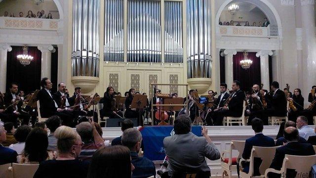 اجرای سالار عقیلی در سن پترزبورگ برای تیم ملی