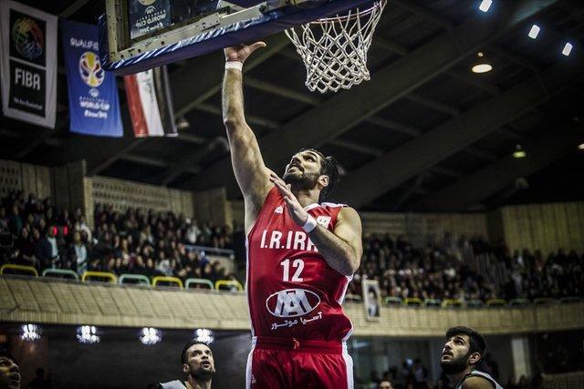 شکست تیم ملی بسکتبال برابر صربستان در دیداری دوستانه
