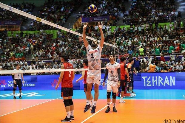 لیگ ملتهای والیبال: پیروزی تیم ملی والیبال ایران مقابل کره جنوبی