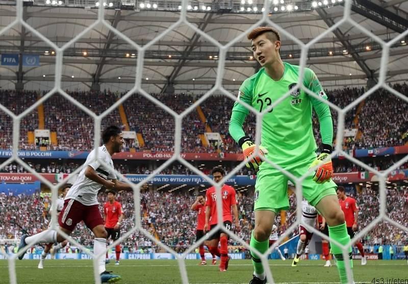 شکست کره جنوبی برابر مکزیک/ نماینده آسیا در آستانه حذف