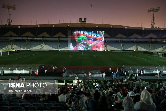 نمایش بازی ایران – پرتغال در ورزشگاه آزادی قطعی شد