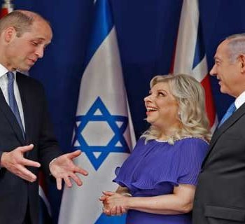 9704 53t717 350x320 - شاهزاده ویلیام پیام رئیس اسرائیل را برای محمود عباس میبرد