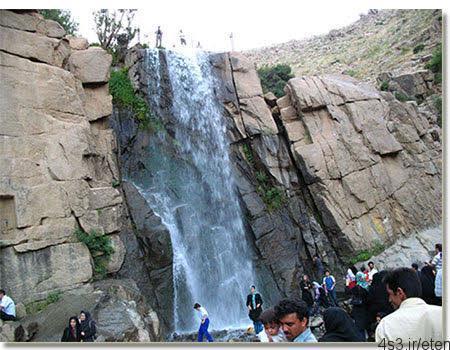 آبشار زیبای گنجنامه همدان