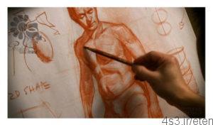 300x176 - دانلود آموزش ویدئویی نقاشی : دوره کامل طراحی یک ساختار بدن انسان