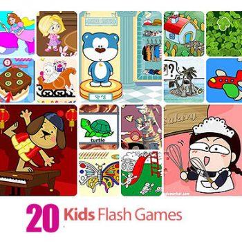 1366688155 kids 350x350 - دانلود Collection of Kids Flash Games - مجموعه بازی های فلش، بازی های خردسالان و کودکان