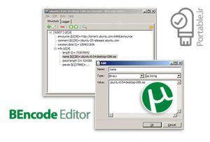 21 19 300x204 - دانلود BEncode Editor v0.7.1.0 Portable - نرم افزار ویرایشگر فایل های تورنت پرتابل (بدون نیاز به نصب)