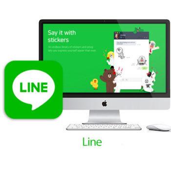 line mac 350x350 - دانلود نرم افزار برقراری تماس و ارسال پیامک رایگان لاین برای ویندوز LINE v5.9.0.1748 for Windows