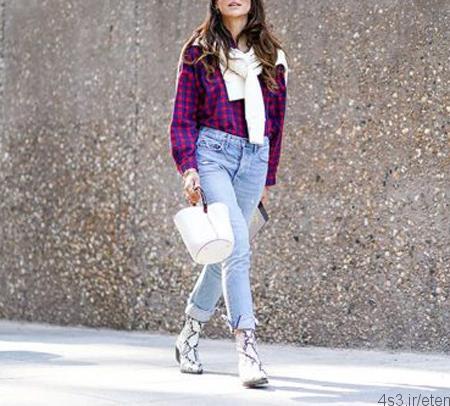های پوشیدن شلوار جین در فصل پاییز - روش های پوشیدن شلوار جین در فصل پاییز