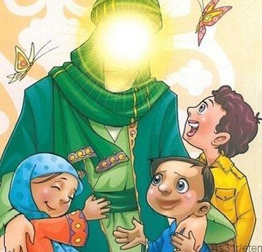 شعر کودکانه درباره امام علی (ع)
