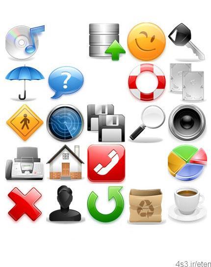 دانلود آیکون نوار ابزار IconBase iToolbar Volume I