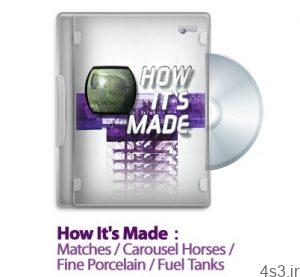 1291726061 how its made s07e05 300x277 - دانلود How It's Made : S07E05 Matches /Carousel Horses /Fine Porcelain /Fuel Tanks - مستند چگونه ساخته میشوند: فصل هفتم قسمت پنجم: مسابقات / اسب های چرخ فلک / زیبای چینی / تانک ها