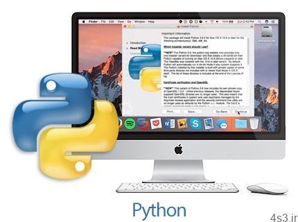 دانلود Python v3.8.1 MacOSX – نرم افزار زبان برنامه نویسی پایتون