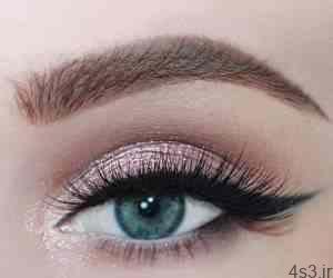 آموزش تصویری آرایش چشم فصل هاي سرد سایت 4s3.ir
