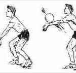 آموزش تکنیک ساعد در والیبال (+) سایت 4s3.ir