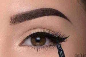 آموزش کشیدن 3 مدل خط چشم زیبا برای خانم های مبتدی!! سایت 4s3.ir