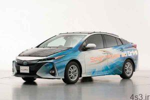 استفاده تویوتا از سلول های خورشیدی روی سقف خودرو (+عکس) سایت 4s3.ir