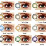 انتخاب رنگ لنز مناسب، برای چشم ها سایت 4s3.ir