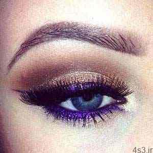 با خط چشم های رنگی چشمان تان را زیبا و جذاب کنید سایت 4s3.ir