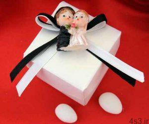 تزیین جعبه هدایای عروس و داماد سایت 4s3.ir