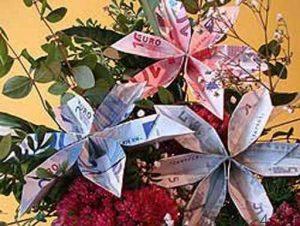 تزیین پول برای مراسم و جشن ها سایت 4s3.ir