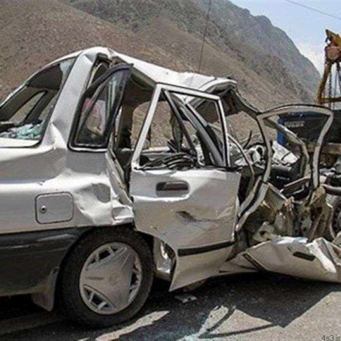 تصادف پراید با تریلر با یک کشته در زنجان سایت 4s3.ir