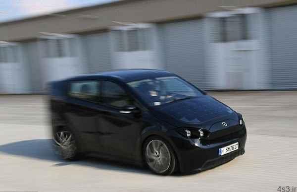 تصاویری از خودرویی با سقف خورشیدی تهویه با خزه ایسلندی سایت 4s3.ir