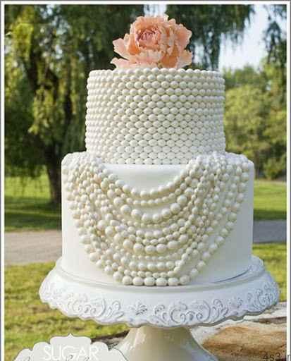 جدیدترین و زیباترین مدل کیک های عروسی سایت 4s3.ir