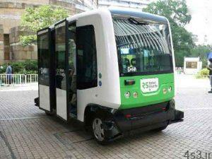 راهاندازی اتوبوسهای خودران در ژاپن سایت 4s3.ir