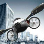 ساخت کوچکترین خودرو پرنده جهان در ژاپن سایت 4s3.ir