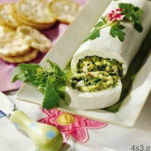 طرز تهیه رولت پنیری صبحانه سایت 4s3.ir