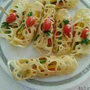 طرز تهیه نان گیپور تابه ای سایت 4s3.ir
