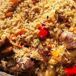 طرز تهیه چکدرمه غذای محلی ترکمن ها سایت 4s3.ir