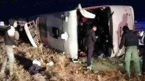 علت بروز حادثه تصادف بامداد امروز اتوبوس در سوادکوه مشخص شد سایت 4s3.ir