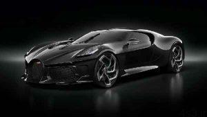 ماشین سیاه ۱۲.۴ میلیون دلاری بوگاتی رونمایی شد عکس سایت 4s3.ir