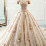 مدل لباس عروس نباتی رنگ سایت 4s3.ir