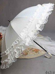 مدل چتر سفید عروس سایت 4s3.ir