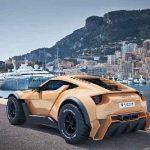 مشخصات فنی و تصاویر خودروی اسپرتی که امارات برای شننوردی تولید کرد! سایت 4s3.ir